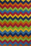Kidding Around 444 Cool Ziggy Zaggy Area Rug by KAS