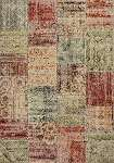 Reflections 7420 Multicolor Patchwork Area Rug by Kas