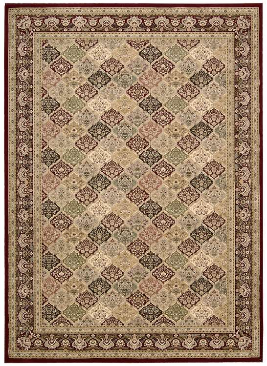 Nourison Antiquities Ki11 Ant02 Multi Traditional Area Rug