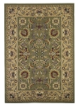 Cambridge Classic 7304 Green/Taupe Kashan Area Rug by KAS