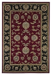 Cambridge Classic 7342 Red/Black Bidjar Area Rug by KAS