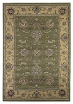 Cambridge Classic 7343 Sage/Beige Bidgar Area Rug by KAS