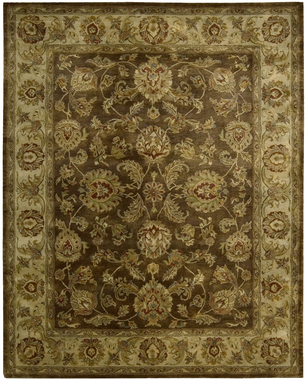 Nourison Jaipur Ja23 Brown Traditional Area Rug