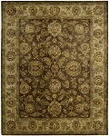 Jaipur JA23 Brown Area Rug by Nourison