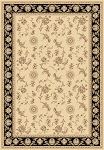 Legacy 58017-190 Ivory/Black Area Rug by Dynamic Rugs