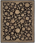 Nourison 2000 2360 Black Area Rug by Nourison