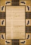 United Weavers Genesis Tartan Loon Natural 530 41817 Area Rug