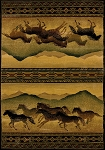United Weavers Genesis Chestnut Mare Lodge 530 52543 Area Rug