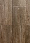 Niove Topo Brown Faux Wood 7 x 20 Ceramic Floor Tile