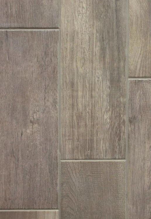 Emblem Grey Wood 7 X 20 Ceramic Floor Tile Carpetmart Com