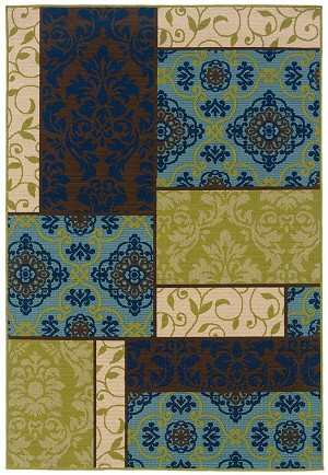 Caspian 3066 V  Indoor-Outdoor Area Rug by Oriental Weavers