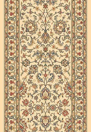 "DaVinci Kashan 64 Pearl 2'2"" Wide Hall and Stair Runner"