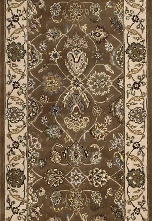 "Nourison 2000 2091 Mushroom 2'6"" Wide Hall and Stair Runner"