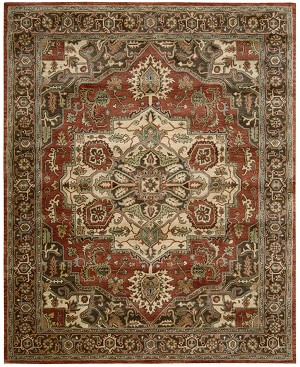 Jaipur JA36 Red Area Rug by Nourison