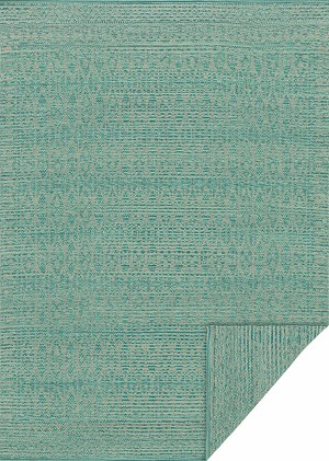 Emmie Kay KM-05 Tuquoise Dove Area Rug - Magnolia Home by Joanna Gaines