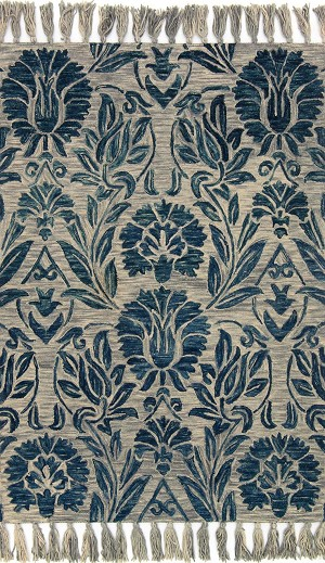 Jozie Day JG-01 Blue Area Rug - Magnolia Home by Joanna Gaines