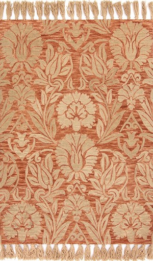 Jozie Day JG-01 Persimmon Area Rug - Magnolia Home by Joanna Gaines