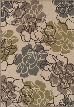 Marcello MO612 Ivory Area Rug by Dalyn
