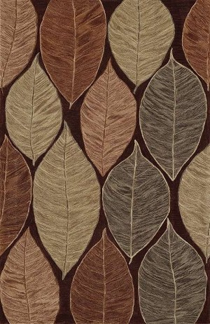 Studio Casual SD9 Chocolate Area Rug by Dalyn