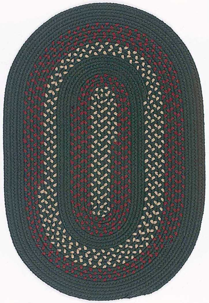 Colonial Mills Deerfield DF61 Hunter Green Area Rug