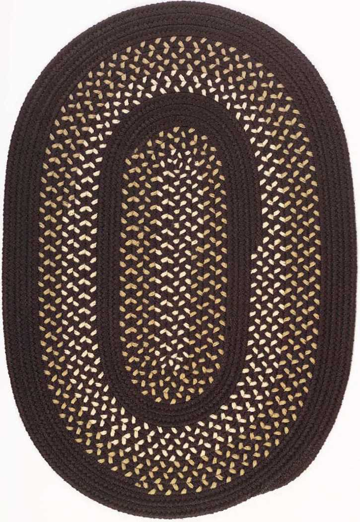 Colonial Mills Deerfield DF71 Seal Brown Area Rug