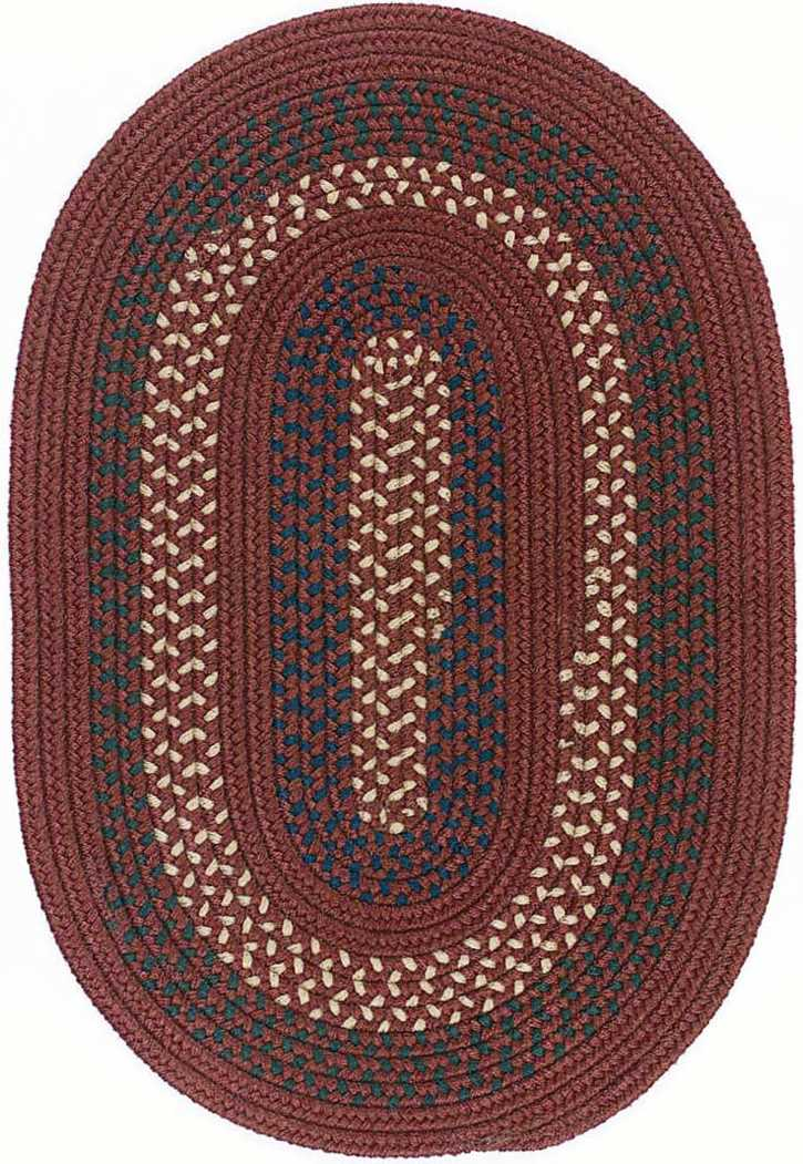 Colonial Mills Deerfield DF81 Deep Russet Area Rug