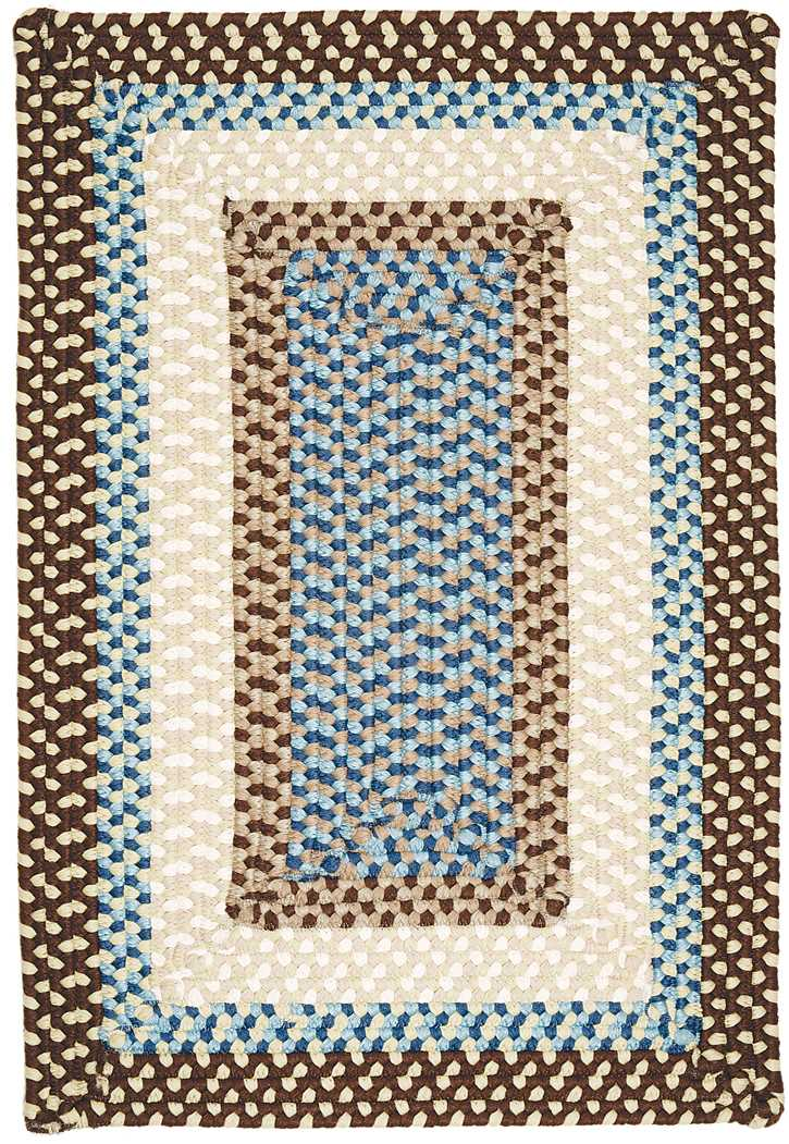 Colonial Mills Montego MG89 Bright Brown Area Rug
