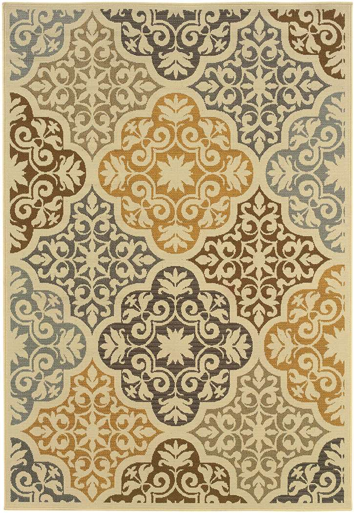 Oriental Weavers Bali 4904 W Indoor Outdoor Rug