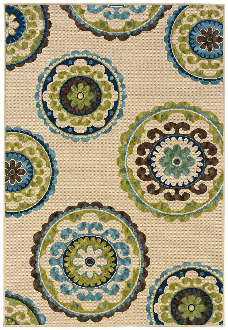 Caspian 859 J  Indoor-Outdoor Area Rug by Oriental Weavers