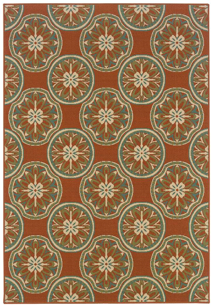 Indoor Outdoor Rugs By Oriental Weavers Montego 8323 D