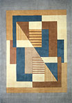 New Wave NW-06 Blue Momeni Area Rug