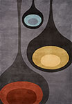 New Wave NW-129 Steel Momeni Area Rug