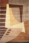 New Wave NW-22 Light Brown Momeni Area Rug