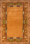 New Wave NW-34 Gold Momeni Area Rug