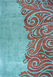 New Wave NW-88 Turquoise Momeni Area Rug