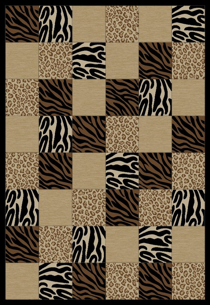 Soho 6253 Multi Area Rug - Modern Design