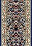 Ancient Garden 57078-3434 Navy/Ivory 2'7