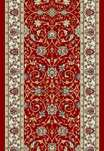 Ancient Garden 57120-1464 Red/Ivory 2'7
