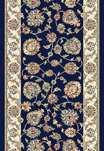 Ancient Garden 57365-3464 Navy/Ivory 2'7