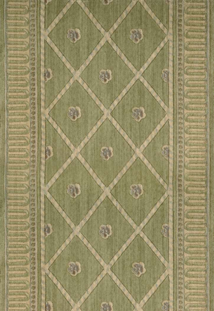 Nourison Ashton House A03r Ashton Court Kiwi 3 Foot Wide