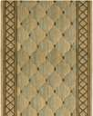 Cosmopolitan C26R Shadowlure Lt.Green 3' Foot Wide Hall and Stair Runner