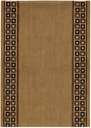 Cosmopolitan C57R R71 Cosmo Rib Chesnut 3' Foot Wide Hall and Stair Runner