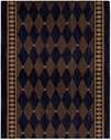 Cosmopolitan C94R R49 Marquis Midnight 3' Foot Wide Hall and Stair Runner