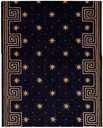 Cosmopolitan C95R R59 Celestial Midnight 3' Foot Wide Hall and Stair Runner
