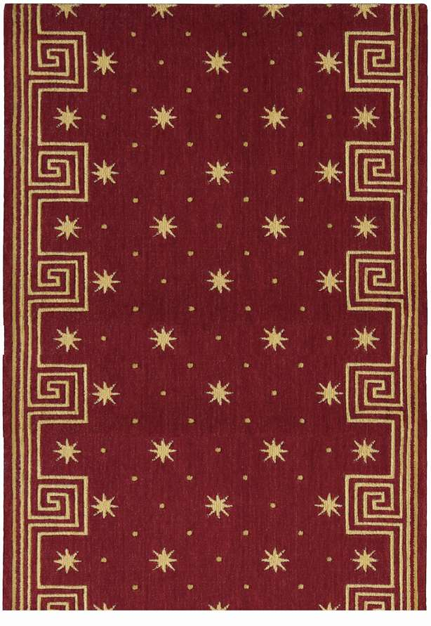 Nourison Cosmopolitan C95r R51 Celestial Red Hall And