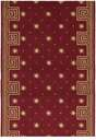 Cosmopolitan C95R R51 Celestial Red 3' Foot Wide Hall and Stair Runner