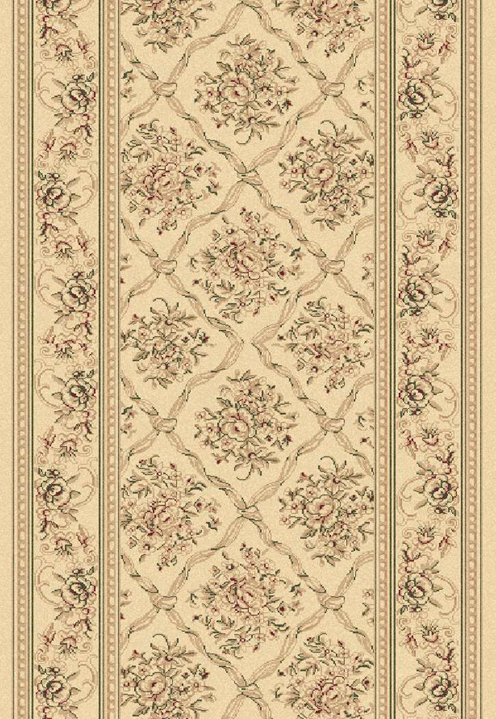 Dynamic Rugs Legacy 58018 100 Ivory Hall And Stair Runner