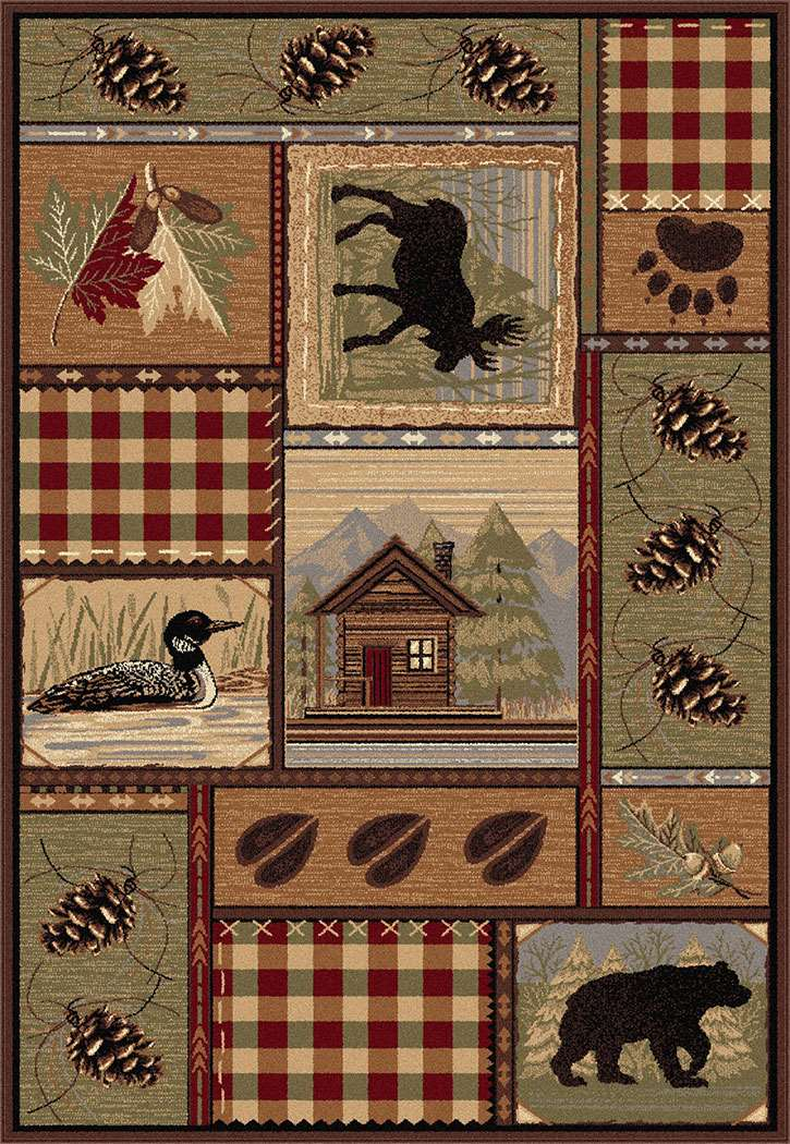 Americana 6548 Multi Area Rug Themed And Fun Rugs