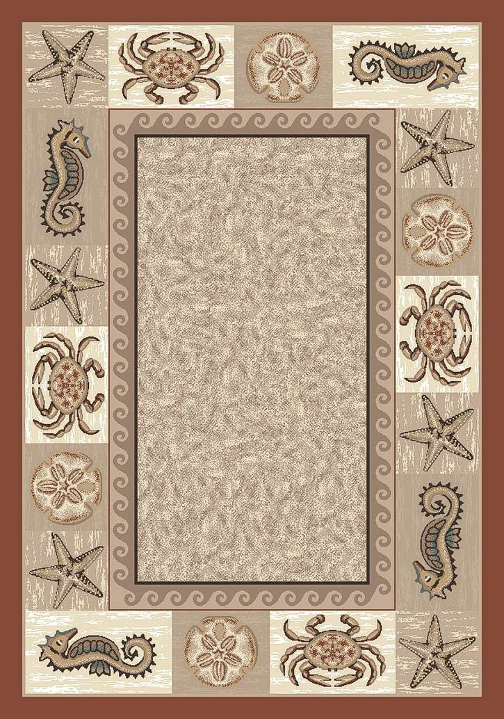 SeaLife P4882 Coral 4900 Area Rug