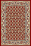 Ancient Garden 57011-1414 Red/Ivory (14 Red) Area Rug by Dynamic Rugs